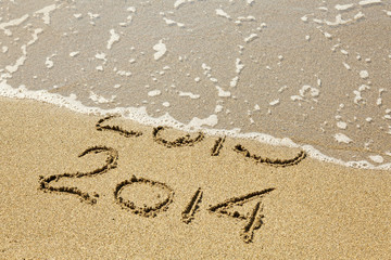New Year 2014 is coming.