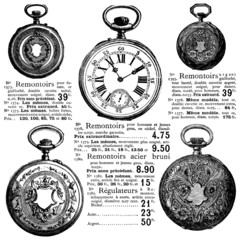 Wall Mural - Catalogue Montres Goussets