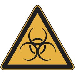 Biohazard Warnschild