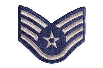 us air force sergeant rank patch