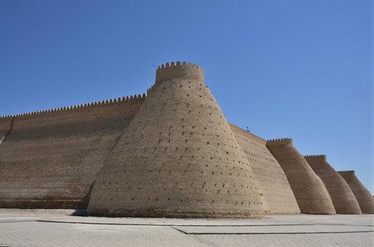 citadelle boukhara ouzbekistan