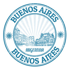 Buenos Aires stamp
