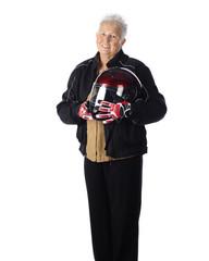 Senior Woman Biker