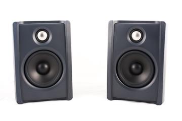 speaker in isolated
