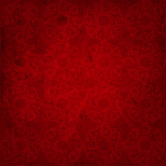 Seamless pattern. Red background with a grunge effect