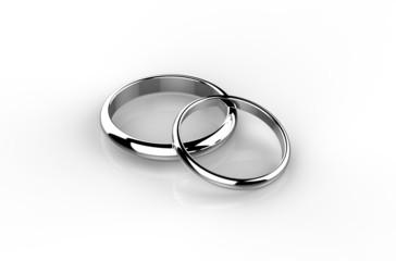 結婚指輪 重ね