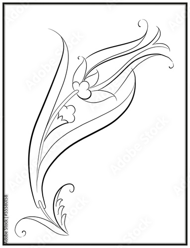 Lale Deseni çizimi Stock Image And Royalty Free Vector Files On