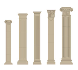 set of column 2