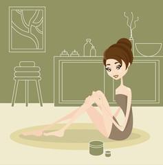 massaggio di bellezza