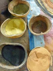 arena de colores