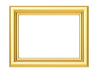 3D golden frame - version 2