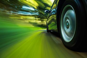 Fototapete - Speeding.