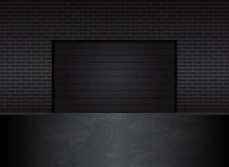 garage gates, eps10 layered vector