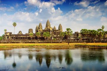 Wall Mural - Angkor temple