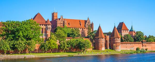 Obraz Malbork Castle - fototapety do salonu
