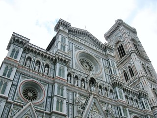 The cathedral of Florence in Italy