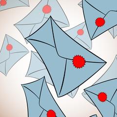 Envelope background
