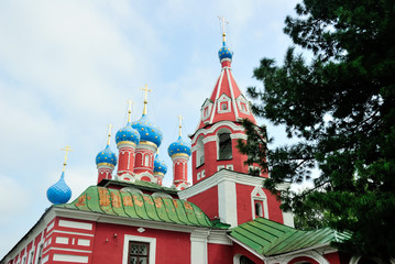 Church of Prince Dimitry-on-Blood in Uglich, Russia