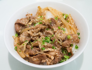 Japanese Pork With Rice