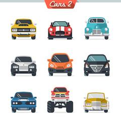 Car icon set 2