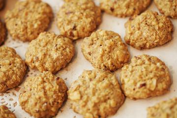 Foto op Aluminium Koekjes homemade almond cookies