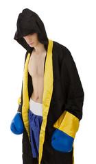 dark sport wear for a boxer