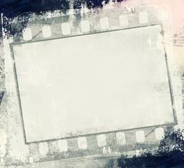 Filmstrip retro frame