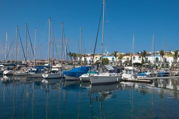 Yacht-Hafen
