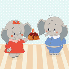Birthdays elephant