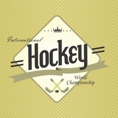 hockey label