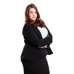 junge dynamische Geschäftsfrau