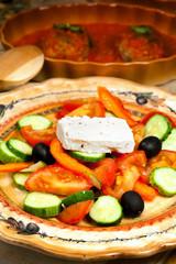 Greek cuisine - rural salad