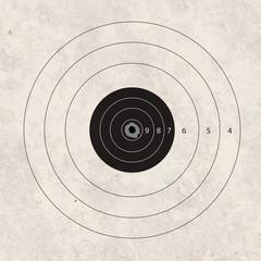 shoot target hit the heart