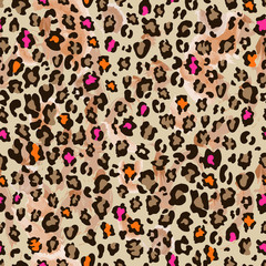 little animal seamless background