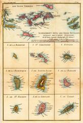 Wall Mural - Vintage map