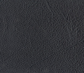 black leather texture closeup.