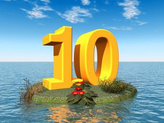 Die Zahl 10