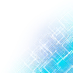 abstract blue background with rhombus