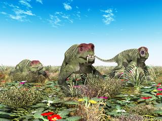 Dinosaurier Doliosauriscus