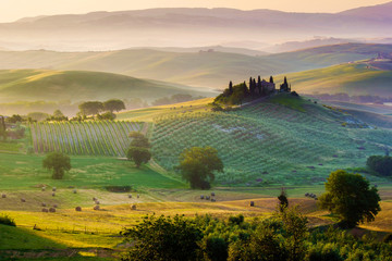 Wall Mural - Val d'Orcia, Toscana