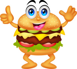 burger cartoon characters