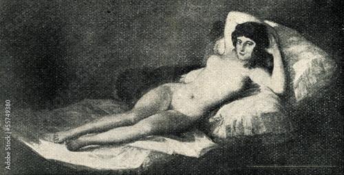 La Maja Desnuda By Francisco Goya Stock Photo And Royalty Free