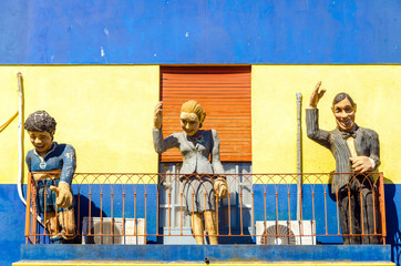 Fotomurales - Statues in Buenos Aires