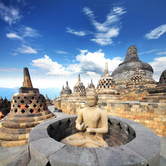 Self adhesive Wall Murals Indonesia Indonesia (Java) - Candi Borobudur