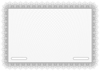 Certificate. Grey Vector pattern currency and diplomas