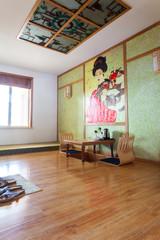 Japanese style room interior