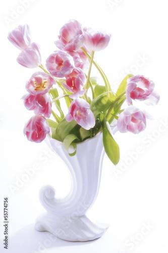 tulpen in der vase tulipa gesneriana zdj stockowych. Black Bedroom Furniture Sets. Home Design Ideas