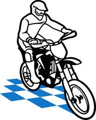 Fototapete - masterfitness-motocross