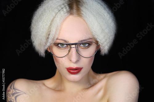 Kurze haare kreppen