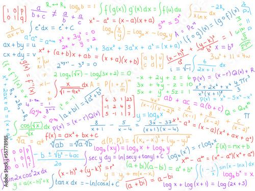 Mathematics Background Science Math Maths X Equations Symbols